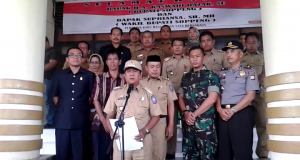 Bupati Soppeng, Andi Kaswadi Razak, kecewa dengan kinerja tim penanggulangan DBD