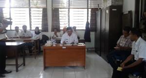 Wakil Bupati Soppeng, Supriansa saat melakukan sdak di Inspektorat. Wabup, kecewa pada Inspektorat karena dinilai tidak bekerja denga baik sehingga salah satu SKPD tersandung kasus korupsi.