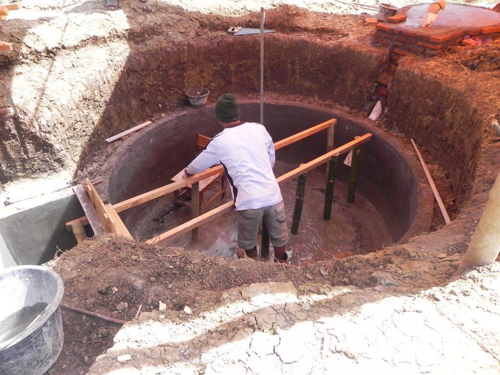Reaktor Biogas Bersandar BIRU
