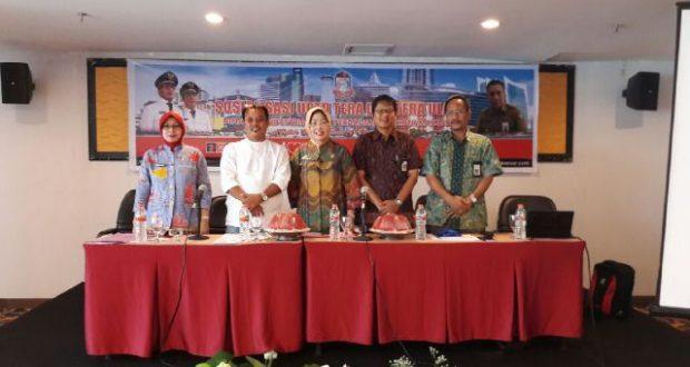 Sosialisasi tera yag digelar oleh Disperindag Kota Makassar.