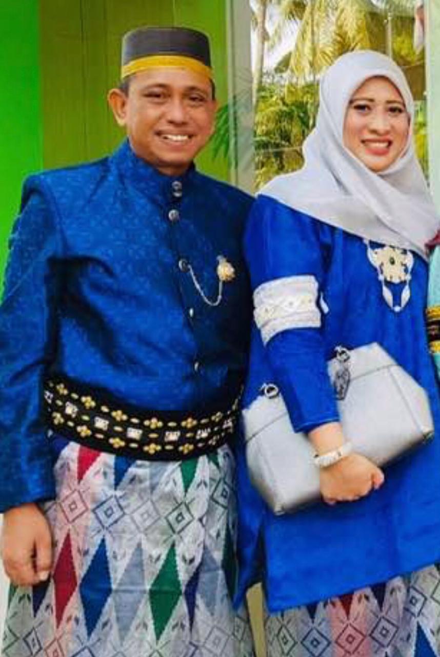 Bupati Terpilih Wajo H. Amran Mahmud dan Istri Hj. Sitti Maryam