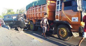 Kecelakaan maut di Kabupaten Wajo yang mengakibatkan tiga orang tewas