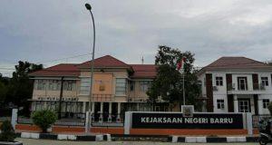 Tampak Kantor Kejaksaan Negeri Barru Kabupaten Barru (14/10/2019).