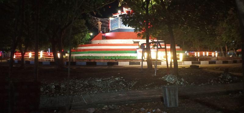 Suasana di dalam Area Monumen Ganggawa